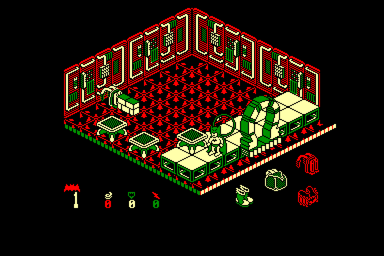 screenshot of the Amstrad CPC game Batman by GameBase CPC