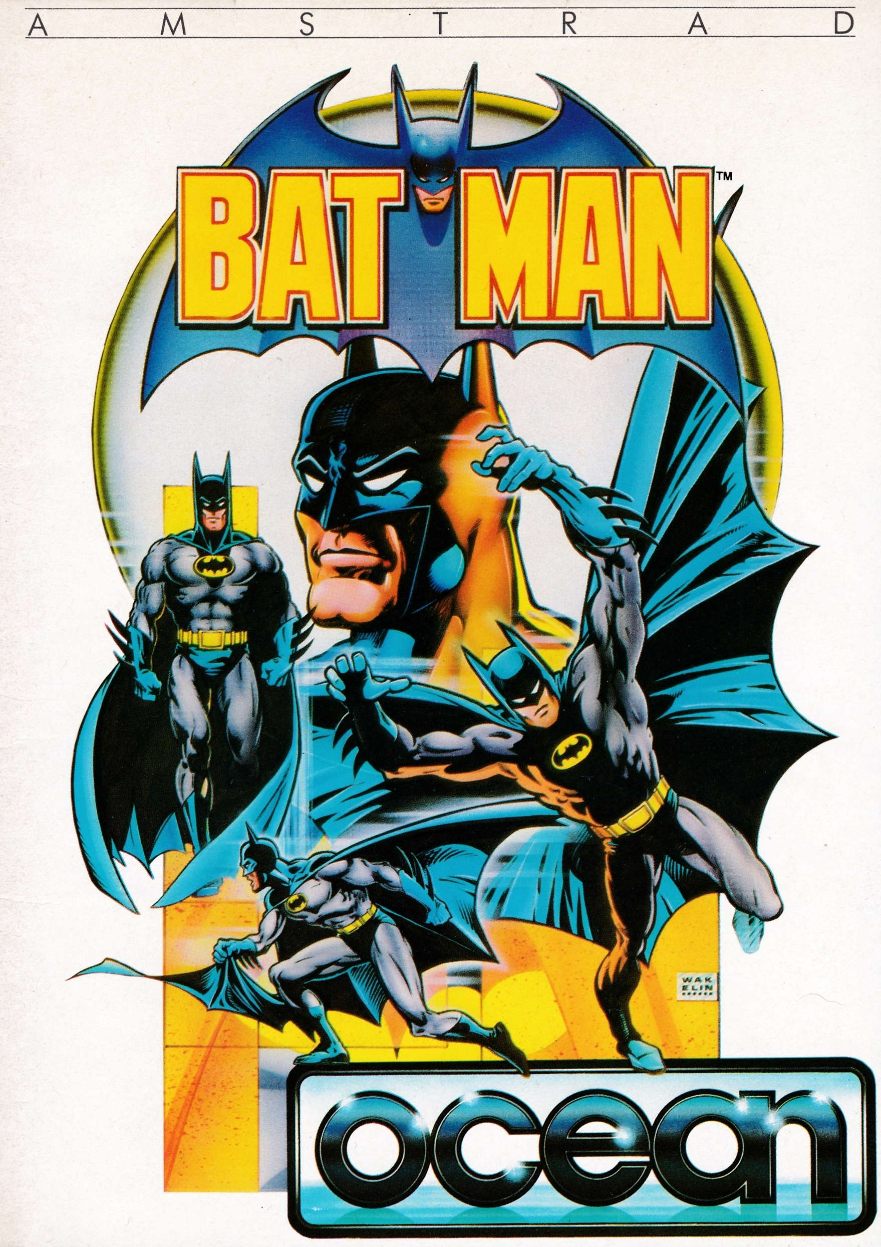 cover of the Amstrad CPC game Batman  by GameBase CPC