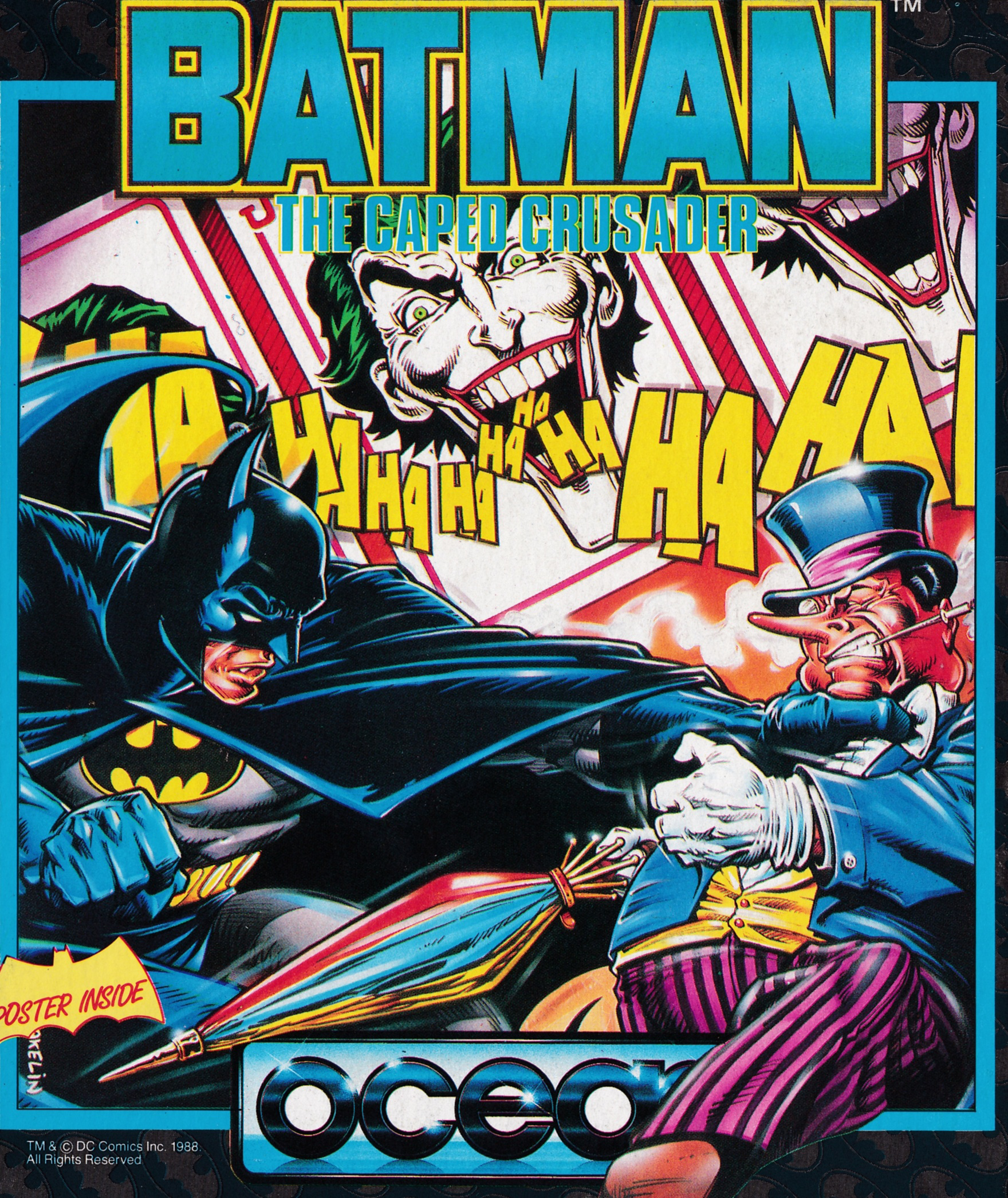 screenshot of the Amstrad CPC game Batman The Caped Crusader by GameBase CPC