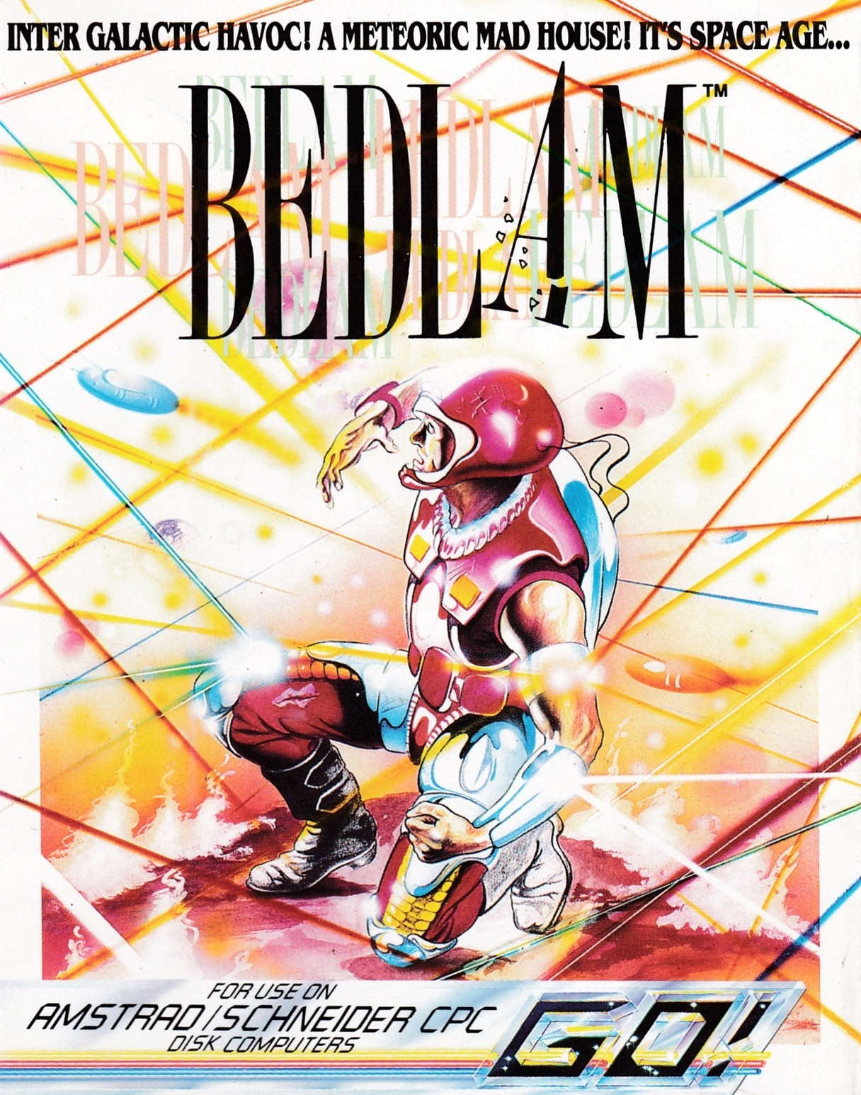 cover of the Amstrad CPC game Bedlam  by GameBase CPC