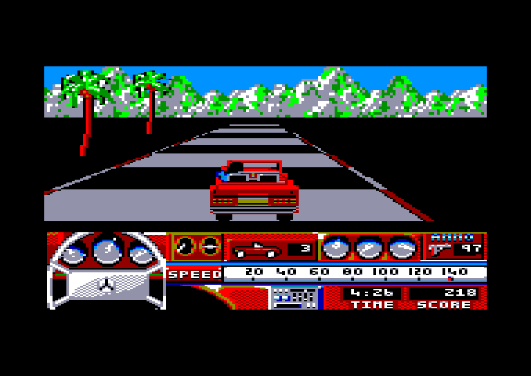 screenshot of the Amstrad CPC game Beverly hills cop by GameBase CPC