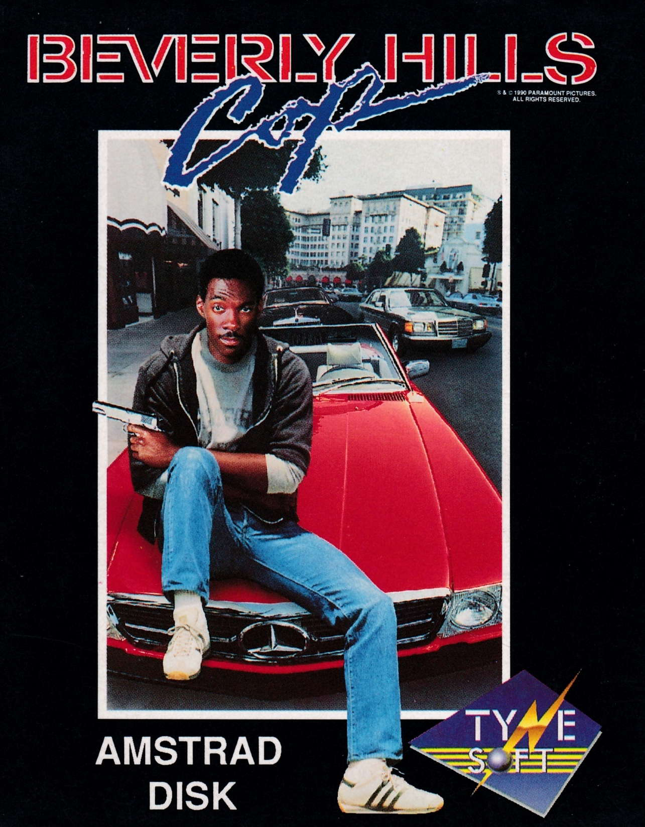 cover of the Amstrad CPC game Beverly Hills Cop  by GameBase CPC