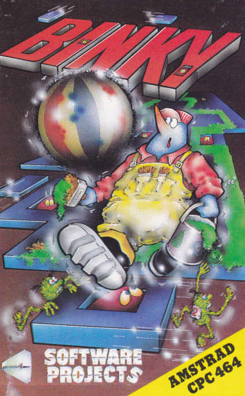 screenshot of the Amstrad CPC game Binky by GameBase CPC
