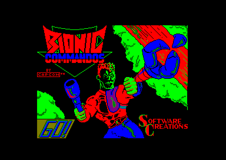 bionic commando zx spectrum
