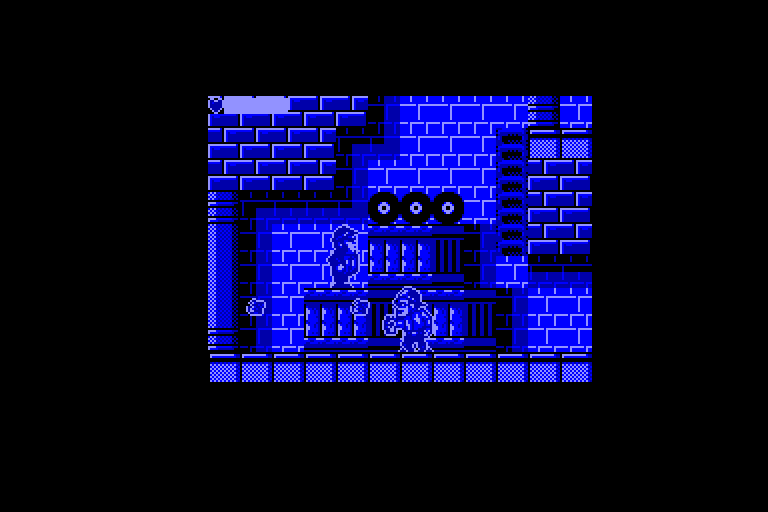 screenshot of the Amstrad CPC game Blues brothers (the) by GameBase CPC