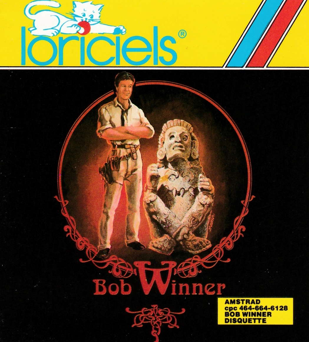 screenshot of the Amstrad CPC game Bob Winner by GameBase CPC