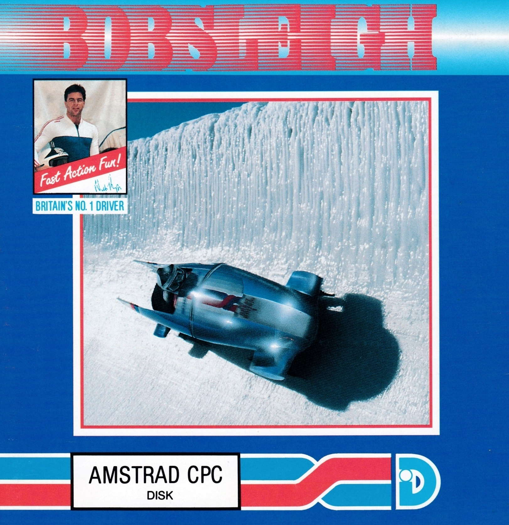 cover of the Amstrad CPC game Bobsleigh  by GameBase CPC