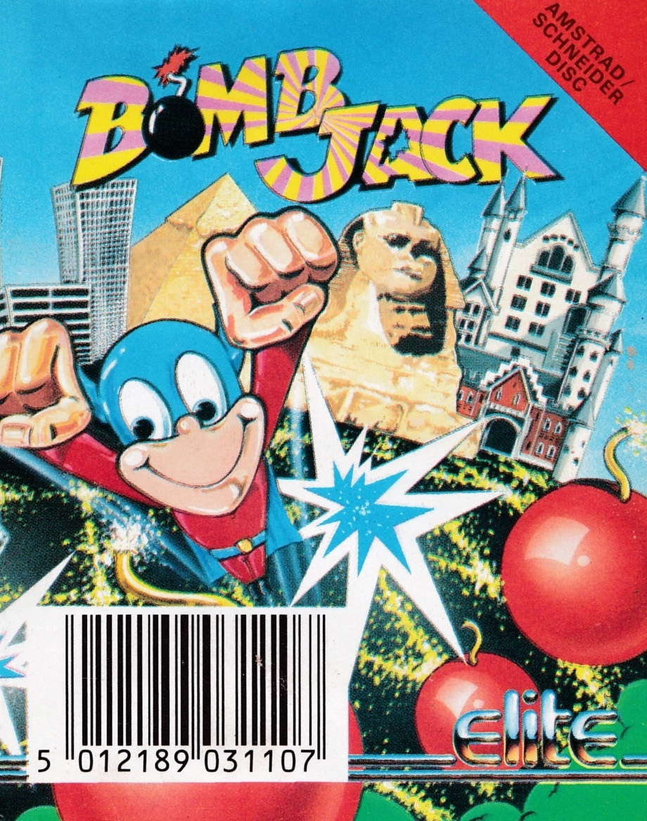 cover of the Amstrad CPC game Bomb Jack  by GameBase CPC