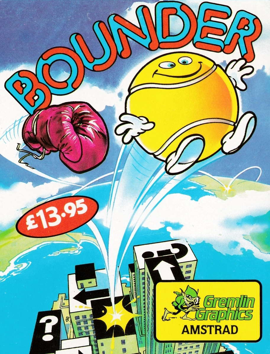 screenshot of the Amstrad CPC game Bounder by GameBase CPC
