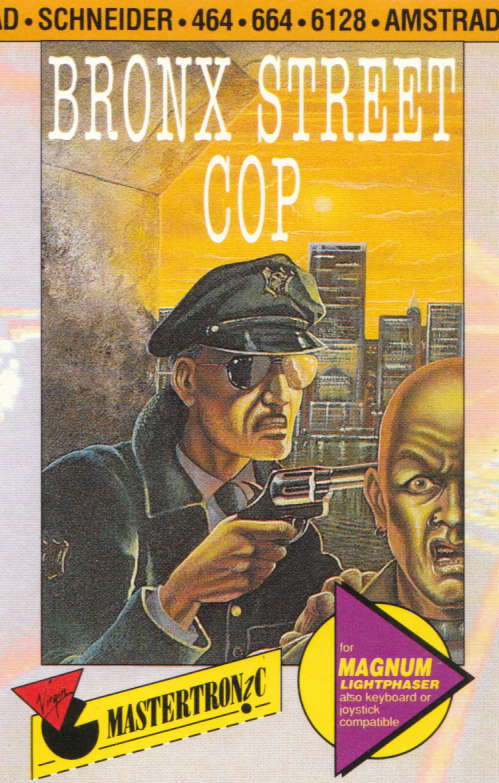 cover of the Amstrad CPC game Bronx Street Cop  by GameBase CPC