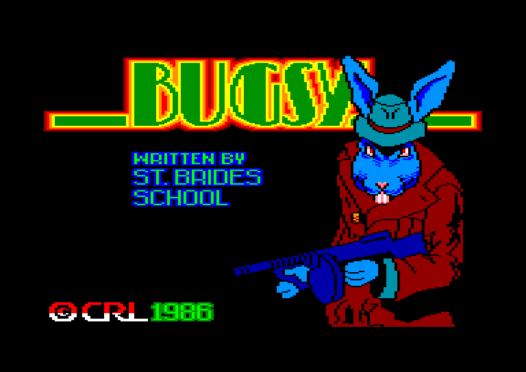 screenshot of the Amstrad CPC game Bugsy by GameBase CPC