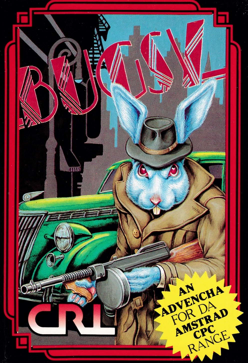 cover of the Amstrad CPC game Bugsy  by GameBase CPC