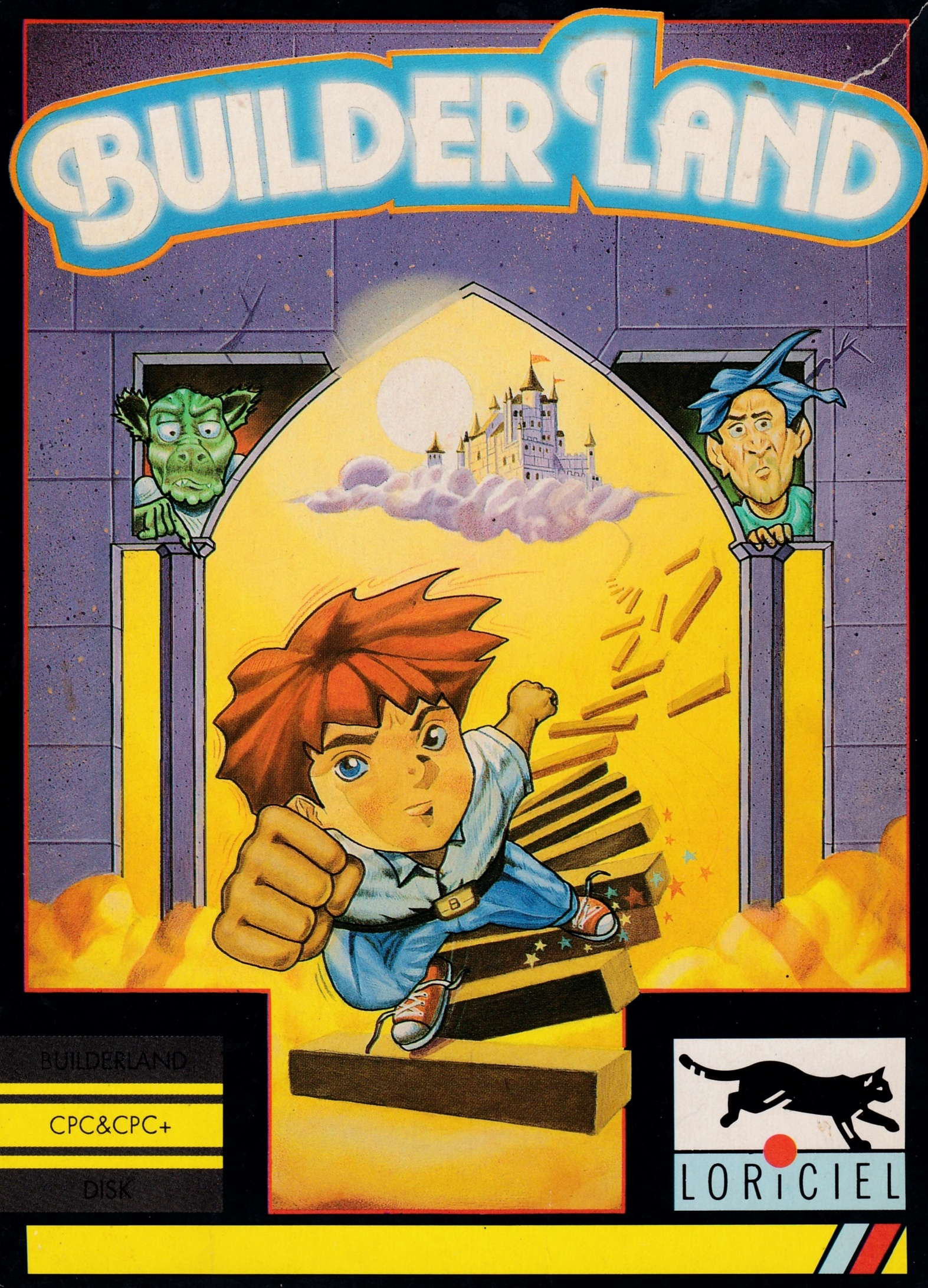 cover of the Amstrad CPC game Builderland  by GameBase CPC