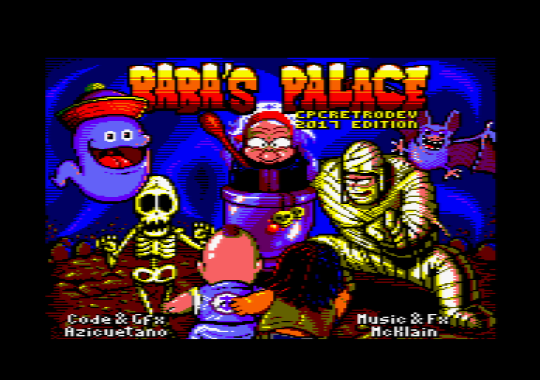 Baba's Palace pour Amstrad CPC