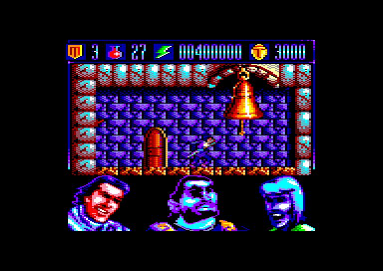 screenshot of the Amstrad CPC game Capitan Trueno (el) by GameBase CPC