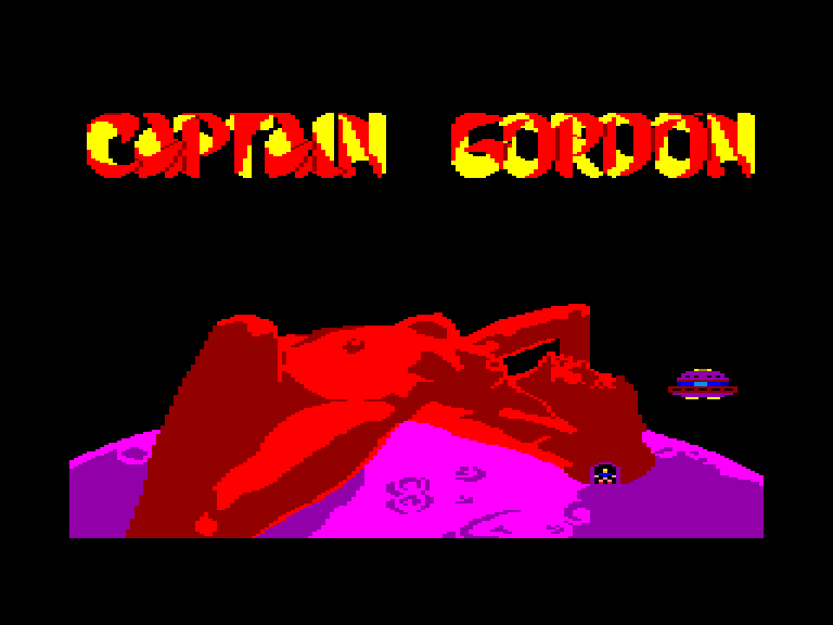 screenshot of the Amstrad CPC game Captain Gordon by GameBase CPC