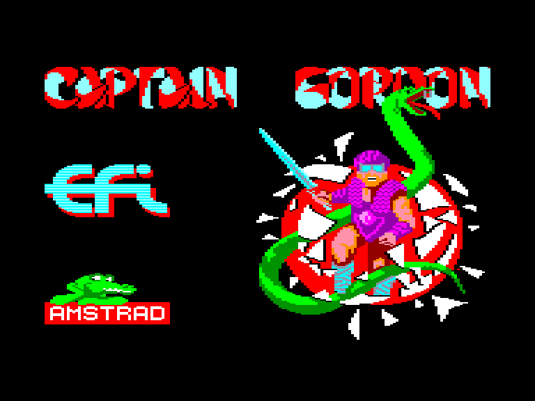 cover of the Amstrad CPC game Captain Gordon  by GameBase CPC