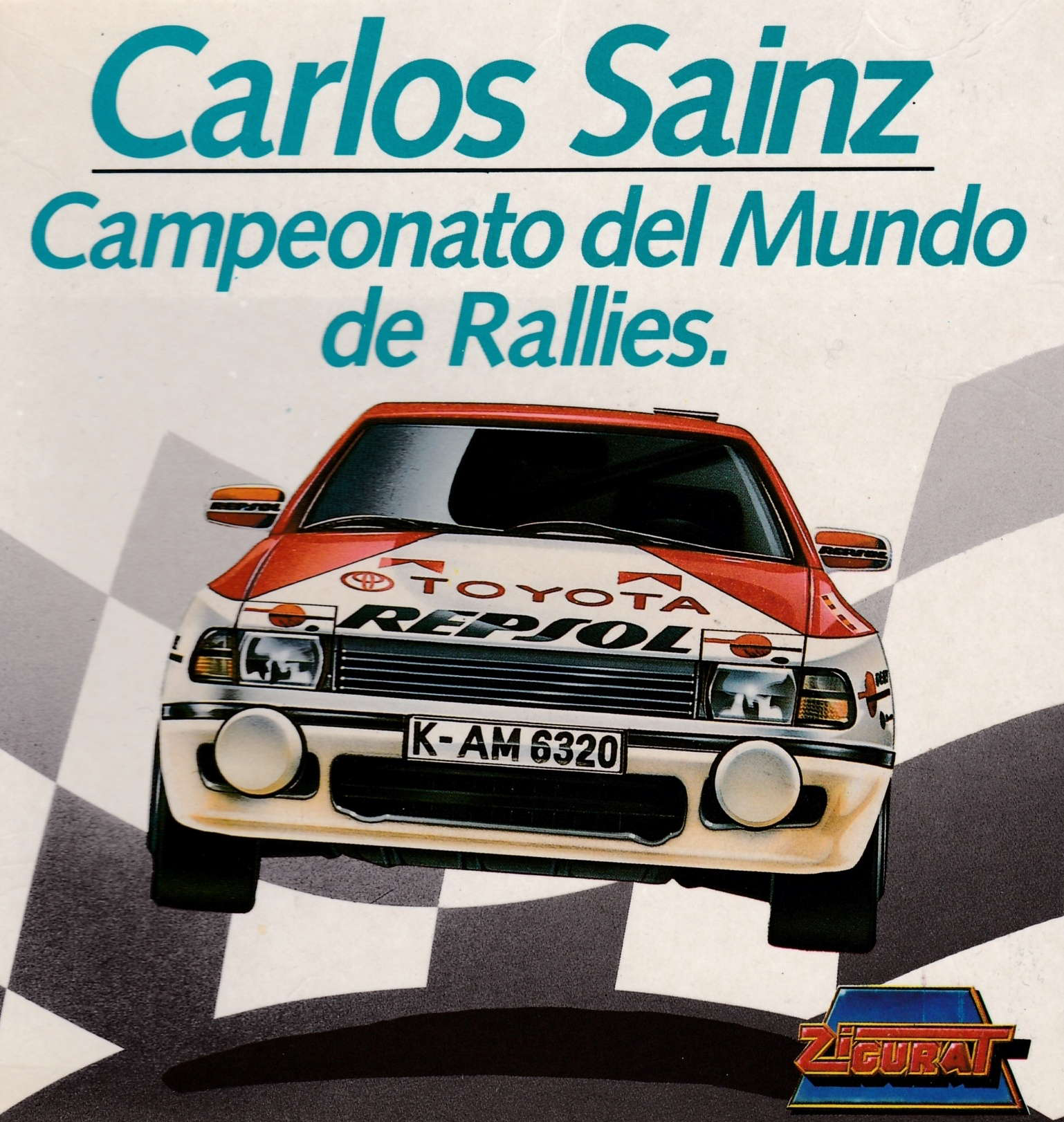 cover of the Amstrad CPC game Carlos Sainz  by GameBase CPC