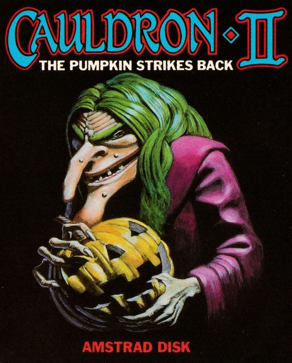 cover of the Amstrad CPC game Cauldron II  by GameBase CPC