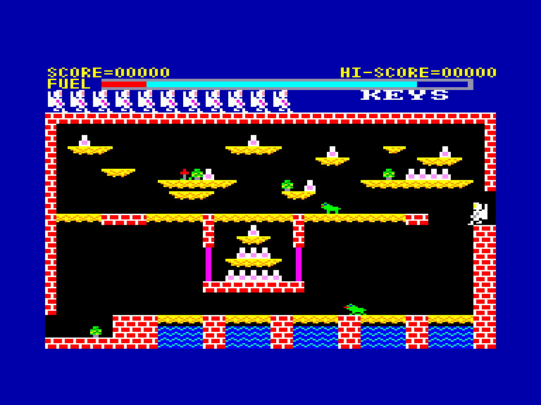 screenshot of the Amstrad CPC game Caves of doom (the) by GameBase CPC