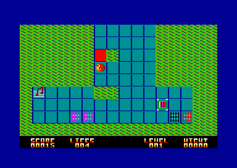 screenshot of the Amstrad CPC game Charlie Bound Sound by GameBase CPC