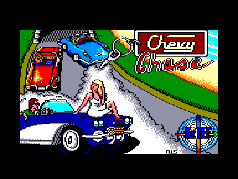 screenshot of the Amstrad CPC game Chevy chase by GameBase CPC