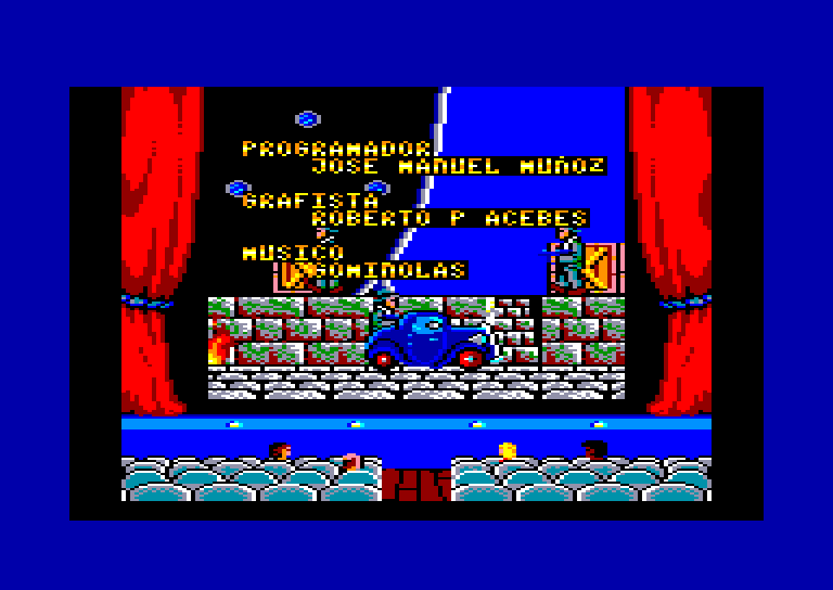screenshot of the Amstrad CPC game Chicago 30's by GameBase CPC