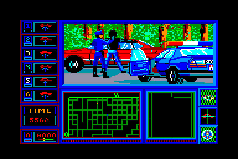 screenshot of the Amstrad CPC game Chicago 90 by GameBase CPC