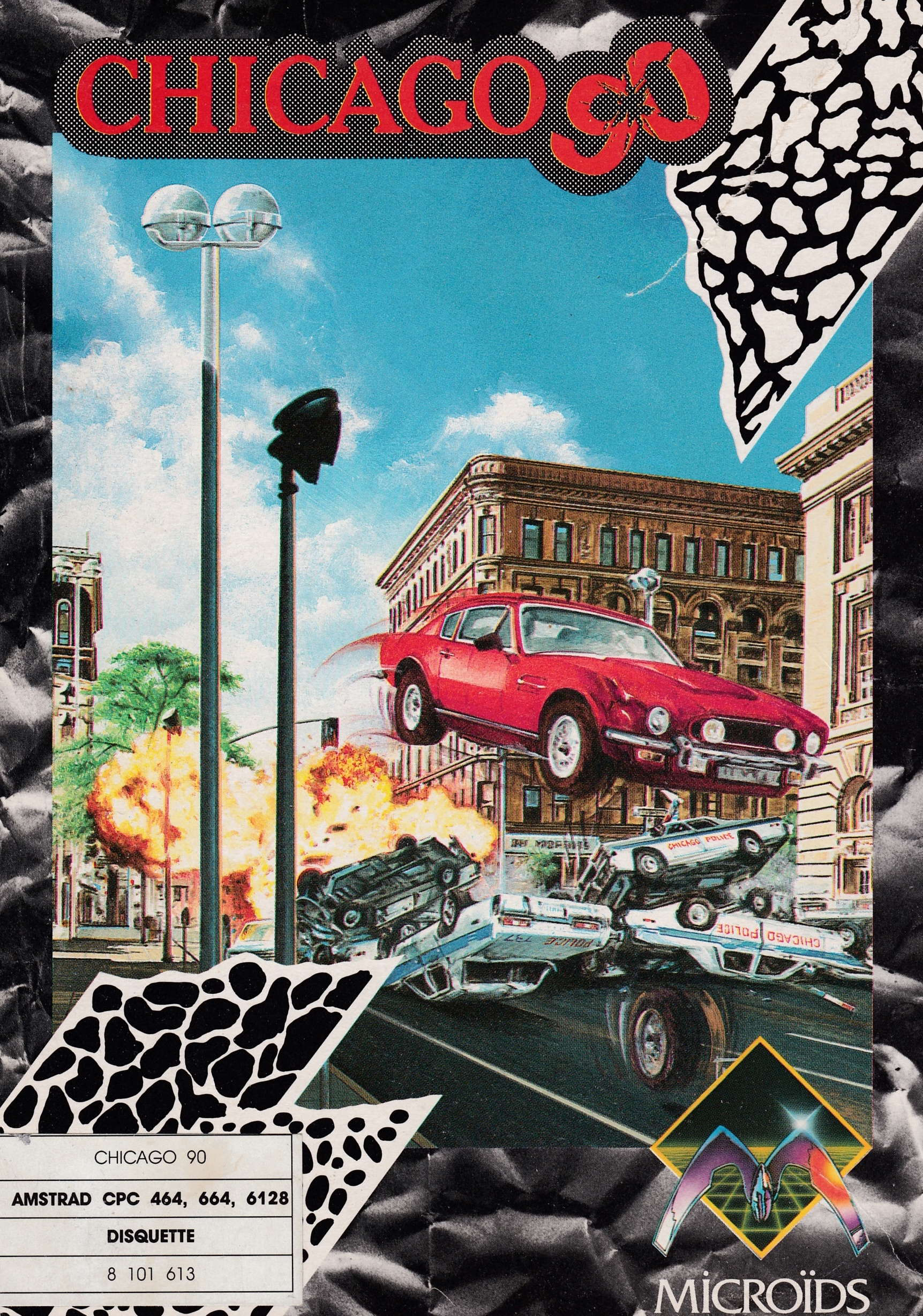 cover of the Amstrad CPC game Chicago 90  by GameBase CPC