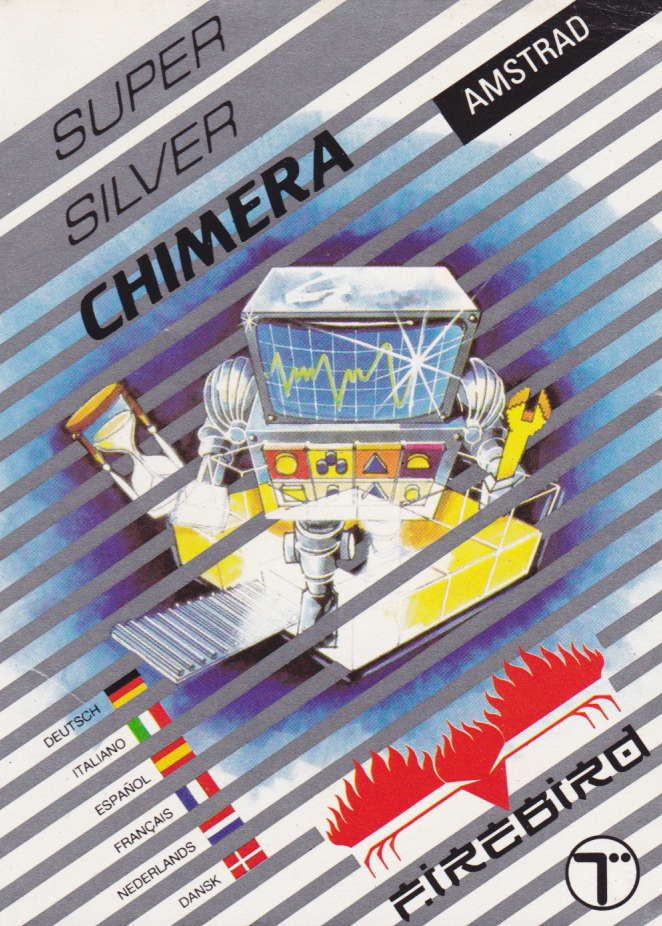 screenshot of the Amstrad CPC game Chimera by GameBase CPC
