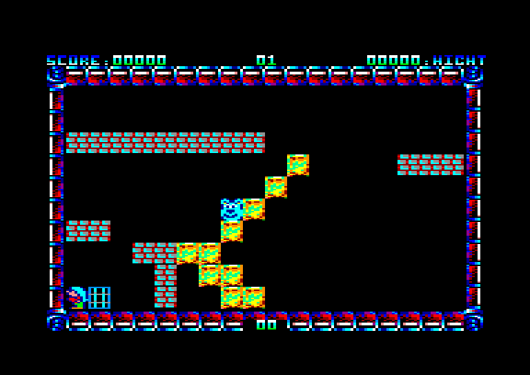 screenshot of the Amstrad CPC game Circus folie by GameBase CPC