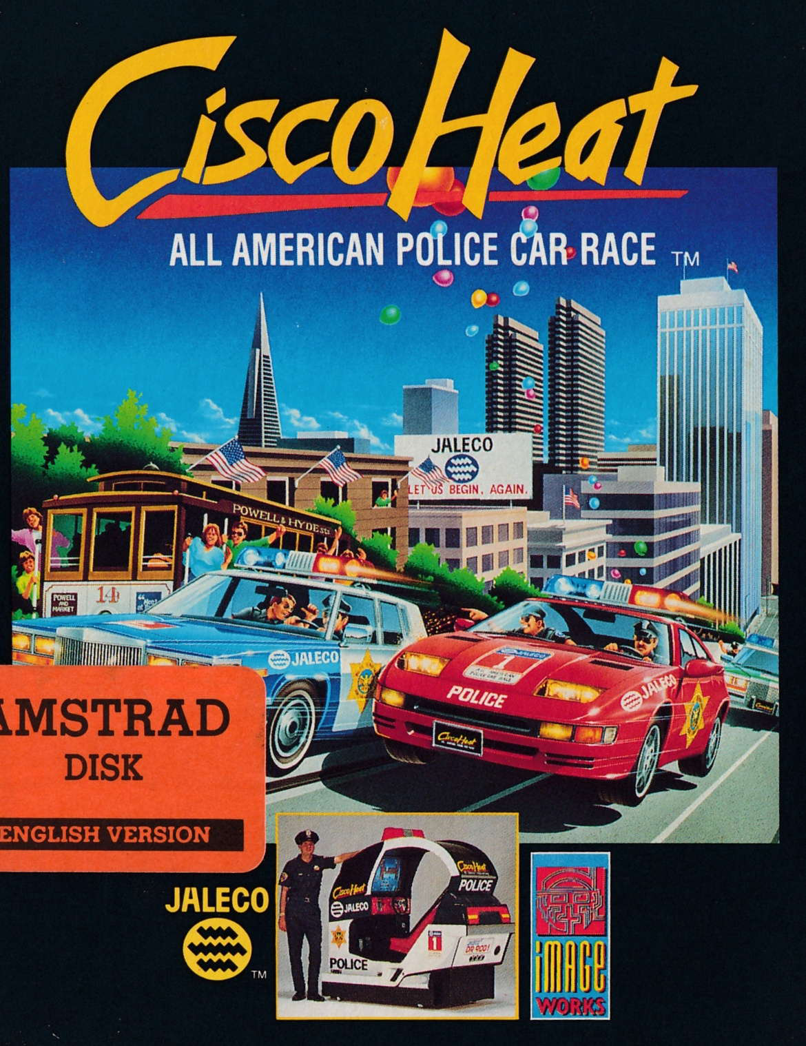 cover of the Amstrad CPC game Cisco Heat  by GameBase CPC