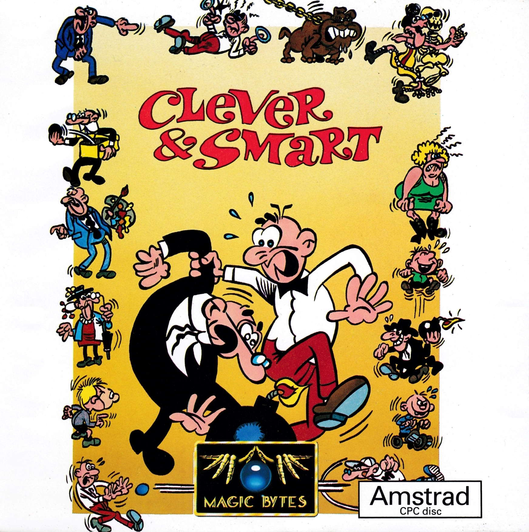 screenshot of the Amstrad CPC game Clever & Smart by GameBase CPC