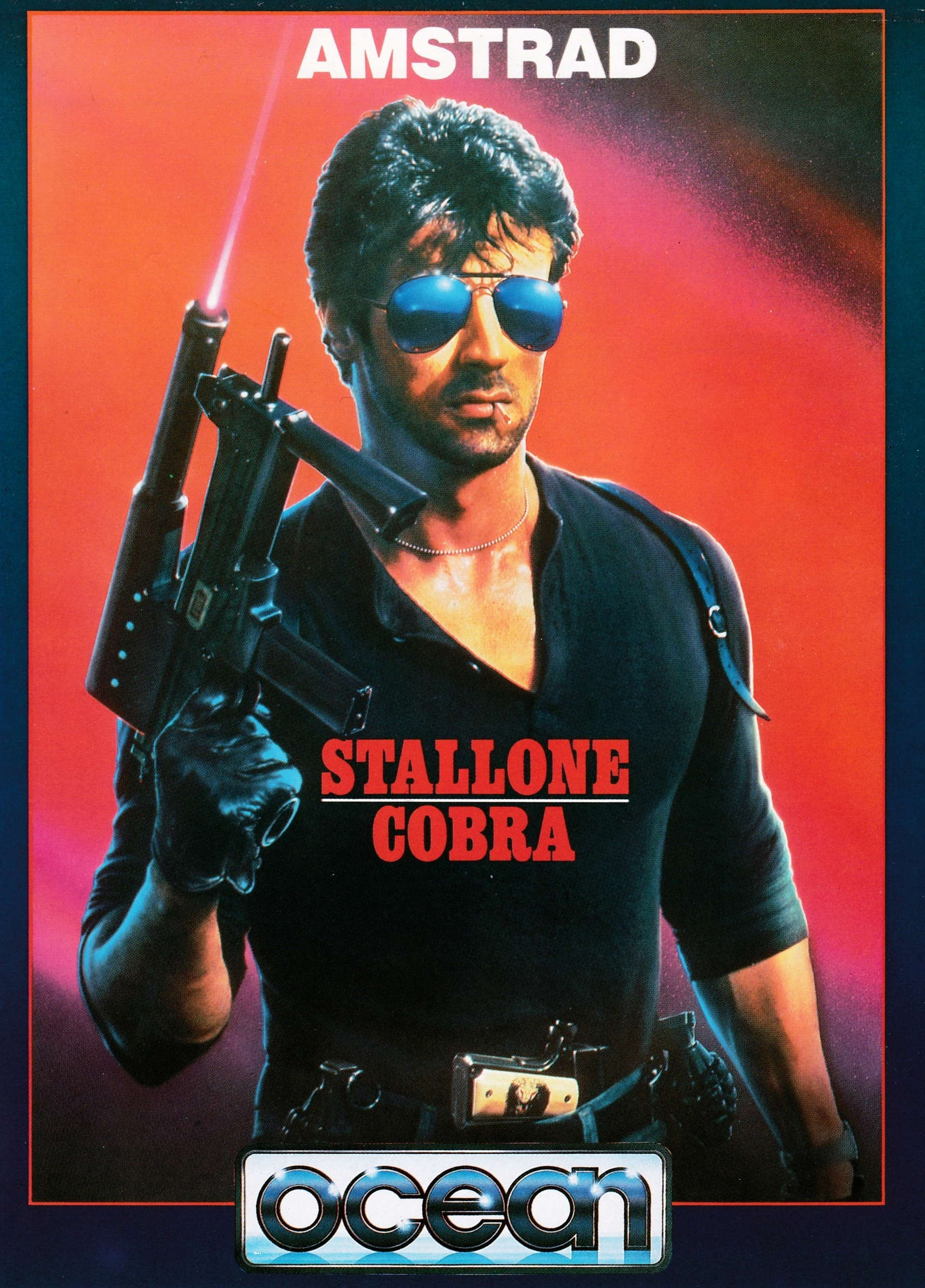 cover of the Amstrad CPC game Cobra Stallone  by GameBase CPC
