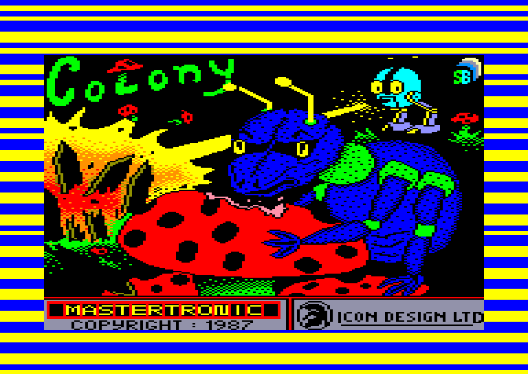 screenshot of the Amstrad CPC game Colony by GameBase CPC