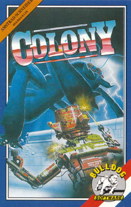 cover of the Amstrad CPC game Colony  by GameBase CPC