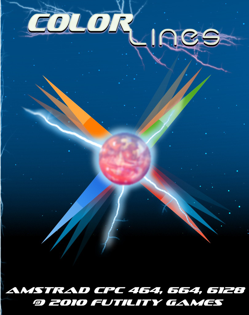 cover of the Amstrad CPC game Color Lines  by GameBase CPC
