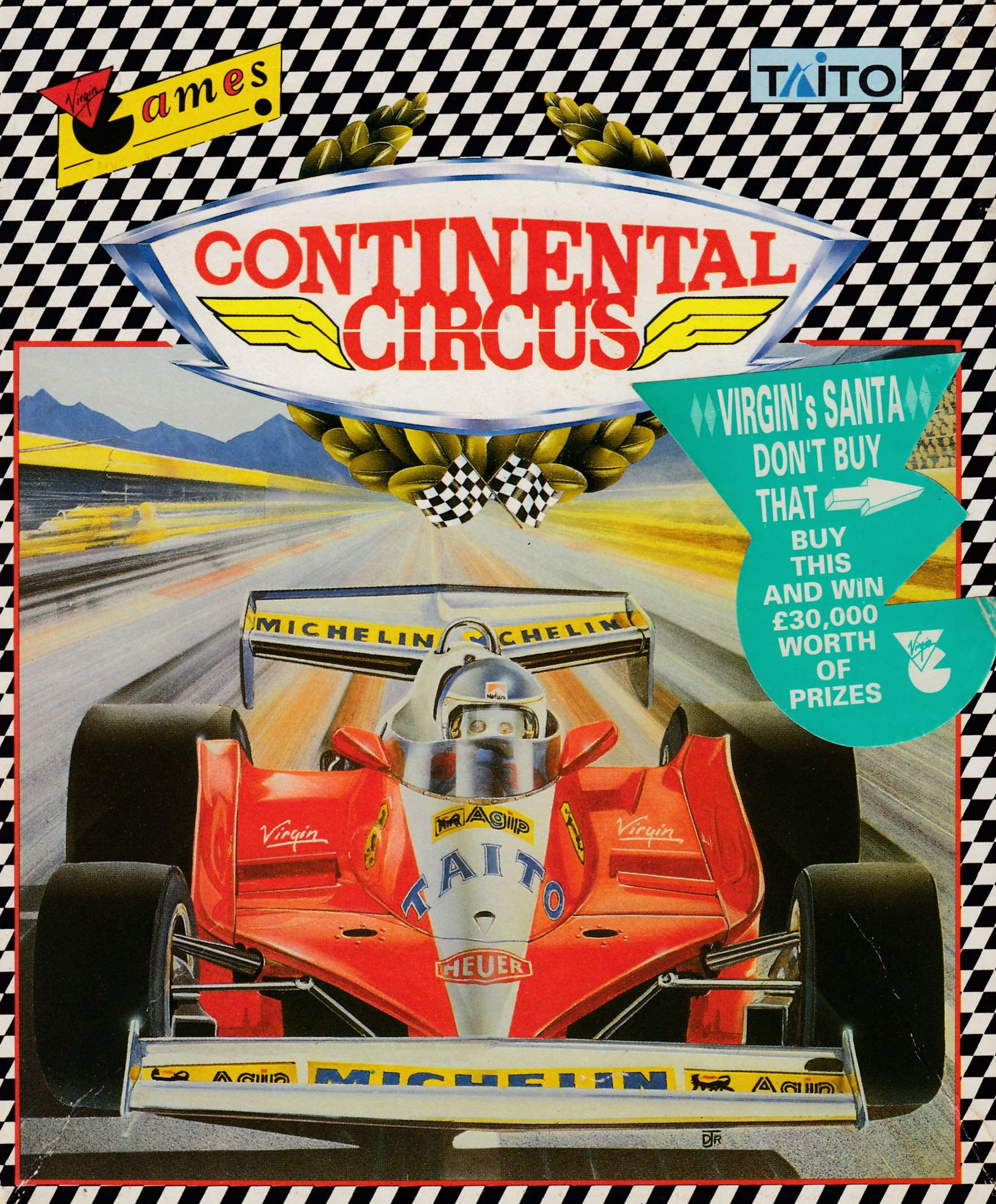 cover of the Amstrad CPC game Continental Circus  by GameBase CPC