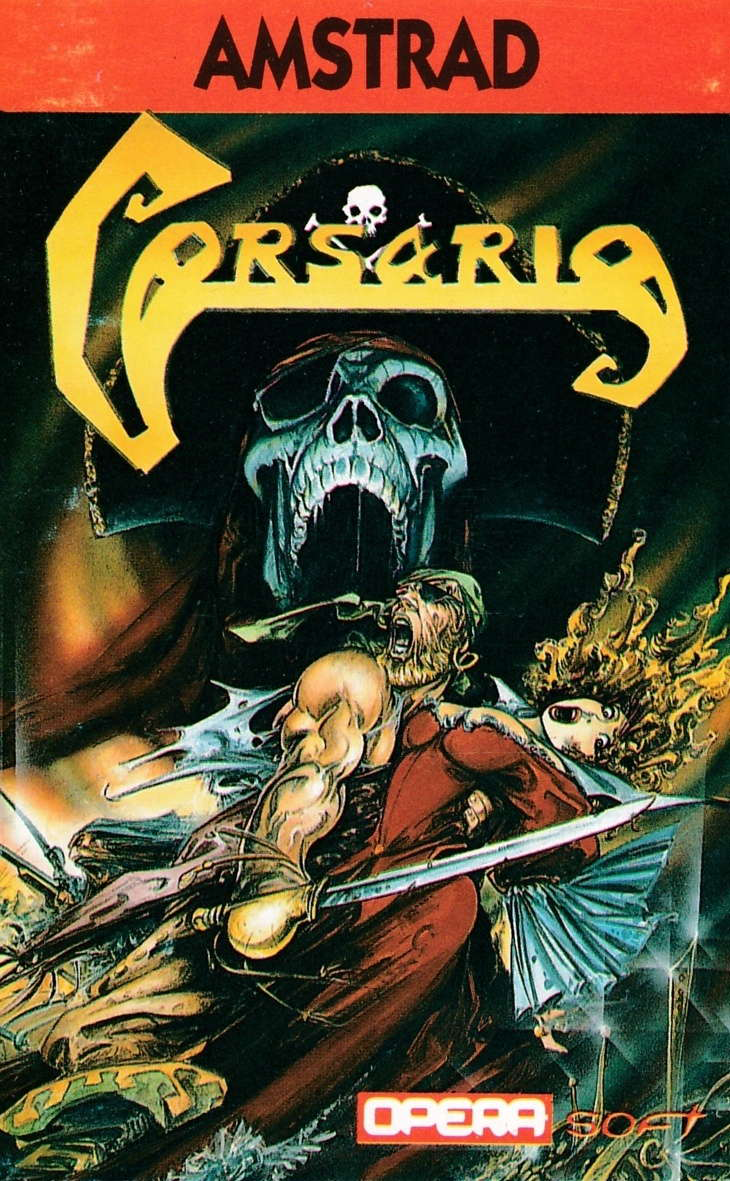 cover of the Amstrad CPC game Corsarios  by GameBase CPC