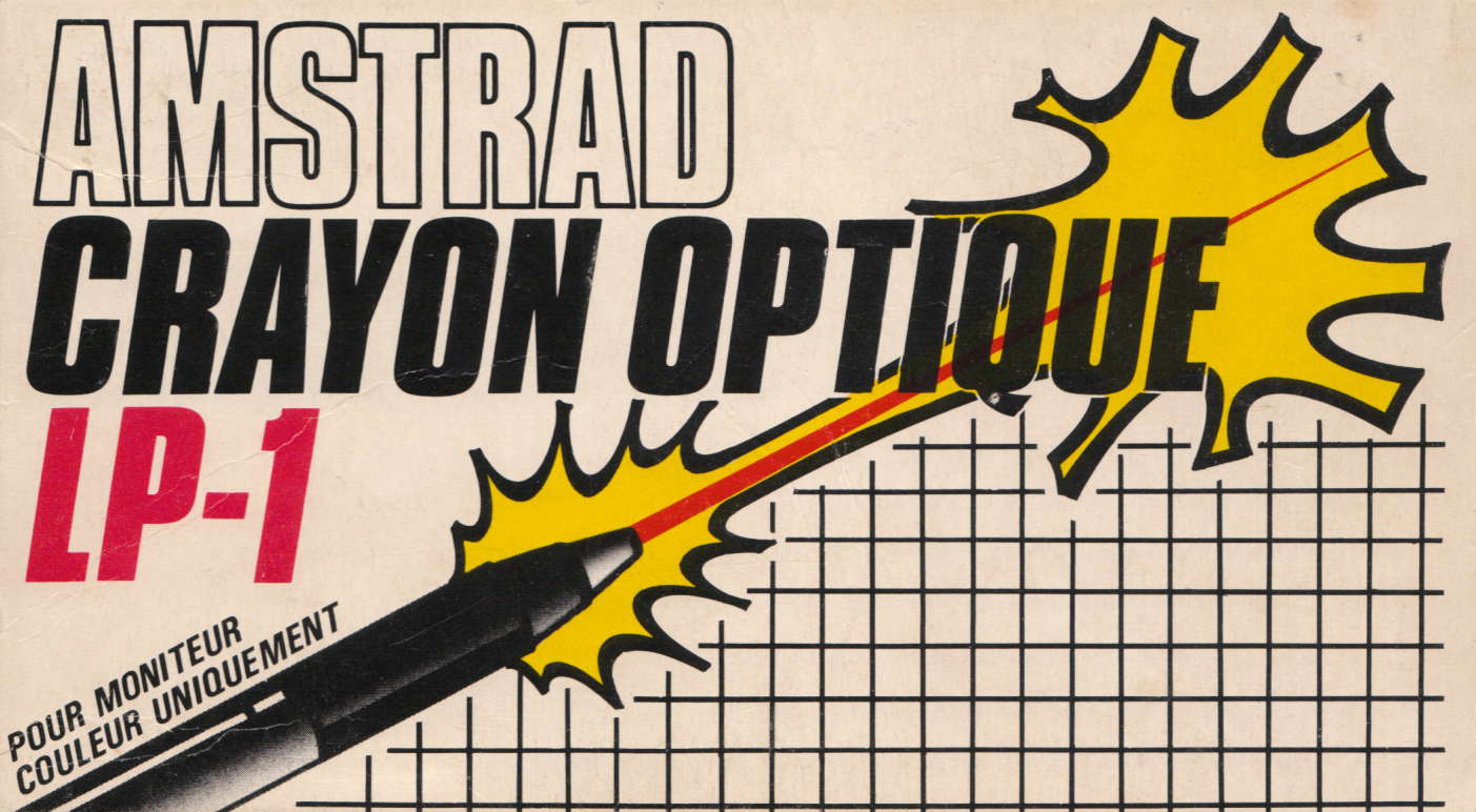 screenshot of the Amstrad CPC game Crayon Optique Trojan LP-1 by GameBase CPC