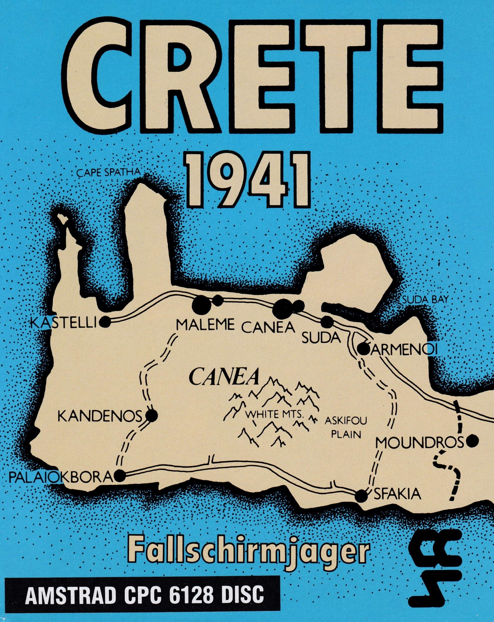 cover of the Amstrad CPC game Crete 1941  by GameBase CPC