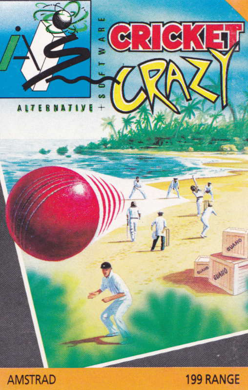 cover of the Amstrad CPC game Cricket Crazy  by GameBase CPC