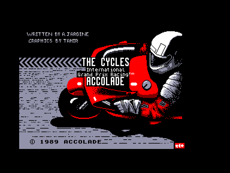 screenshot of the Amstrad CPC game Cycles (the) by GameBase CPC