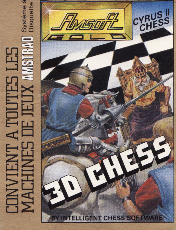 cover of the Amstrad CPC game Cyrus II Chess  by GameBase CPC