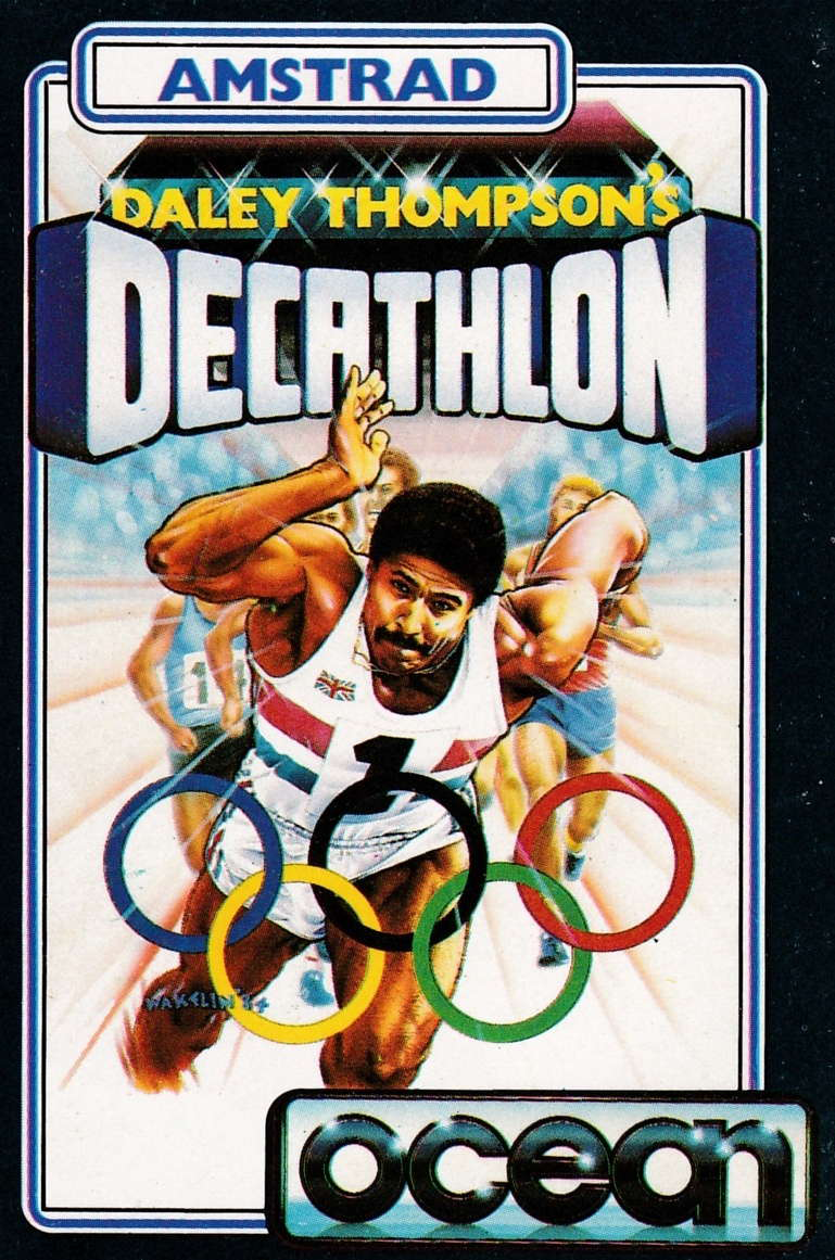 cover of the Amstrad CPC game Daley Thompson's Decathlon  by GameBase CPC