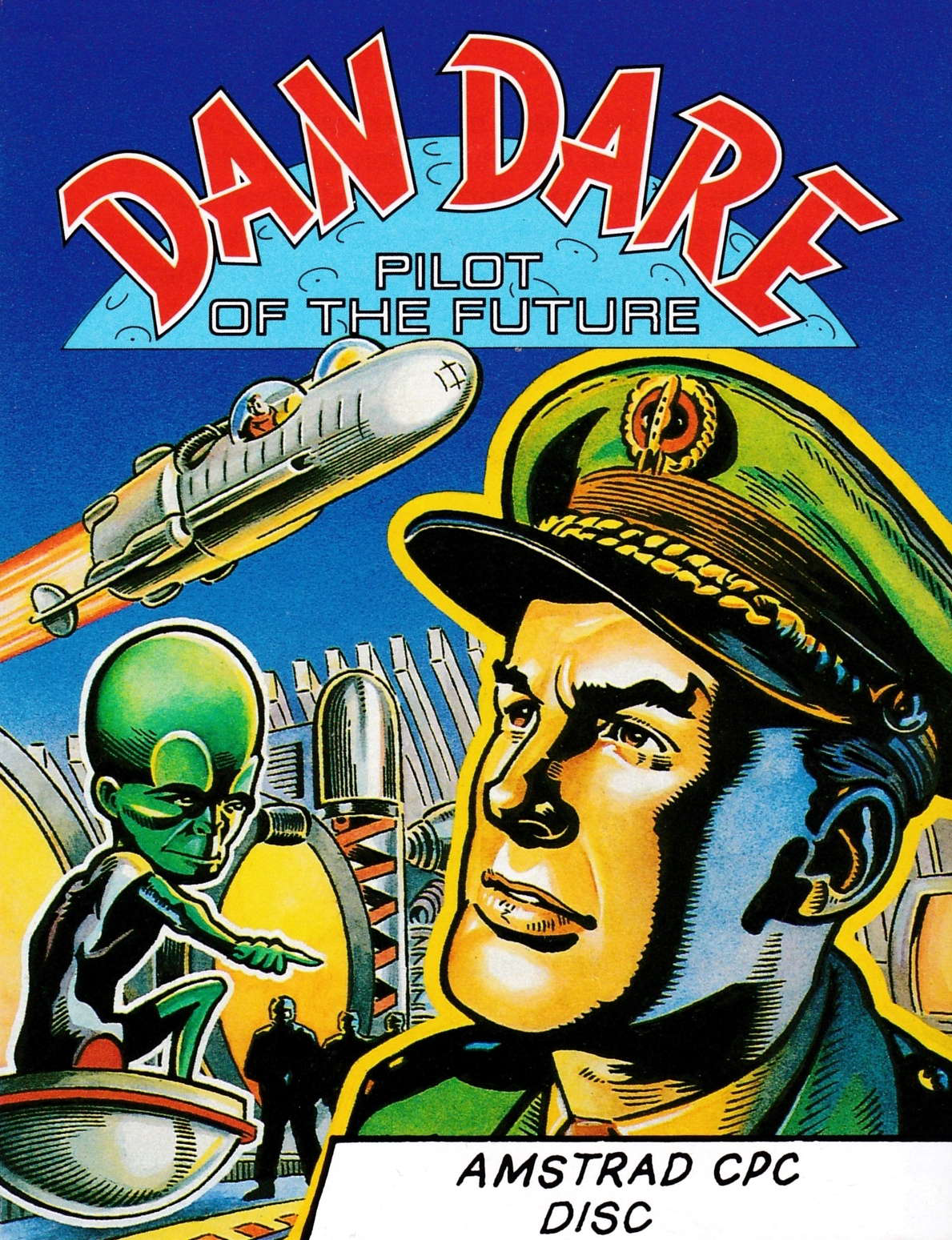 screenshot of the Amstrad CPC game Dan Dare by GameBase CPC