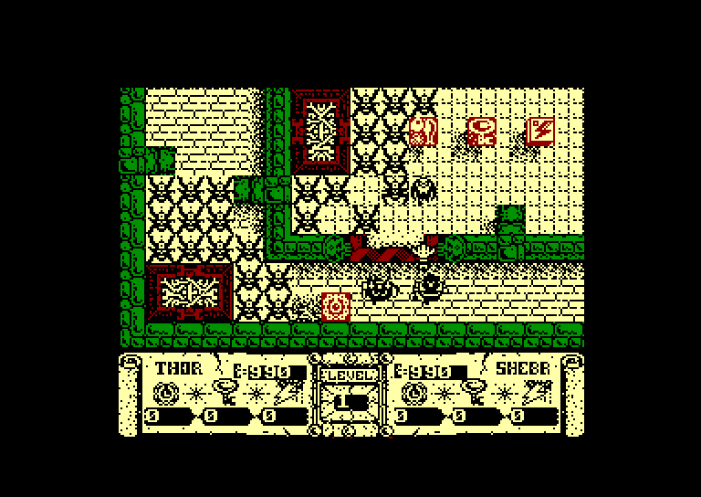 screenshot of the Amstrad CPC game Dandy by GameBase CPC