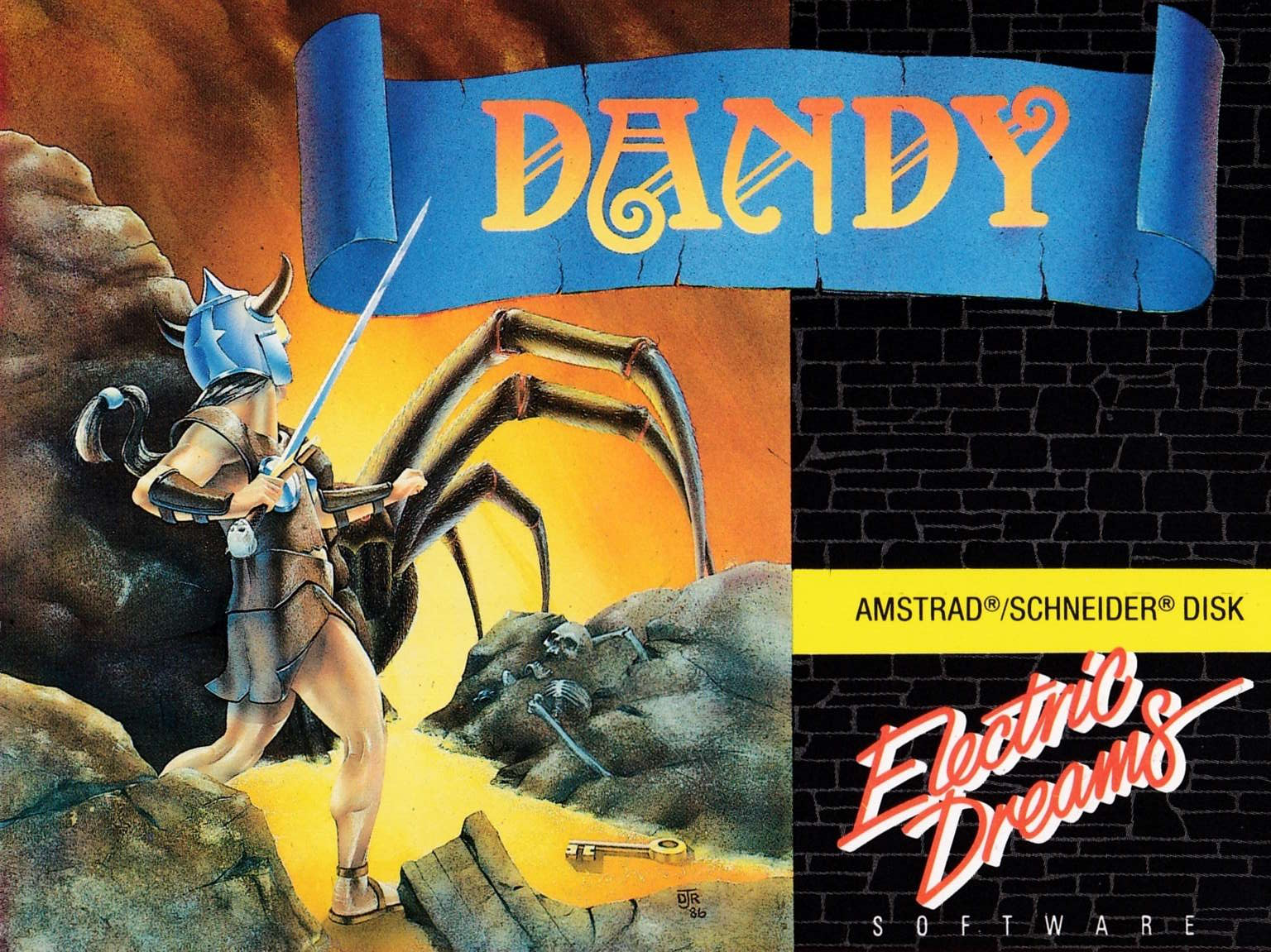 cover of the Amstrad CPC game Dandy  by GameBase CPC