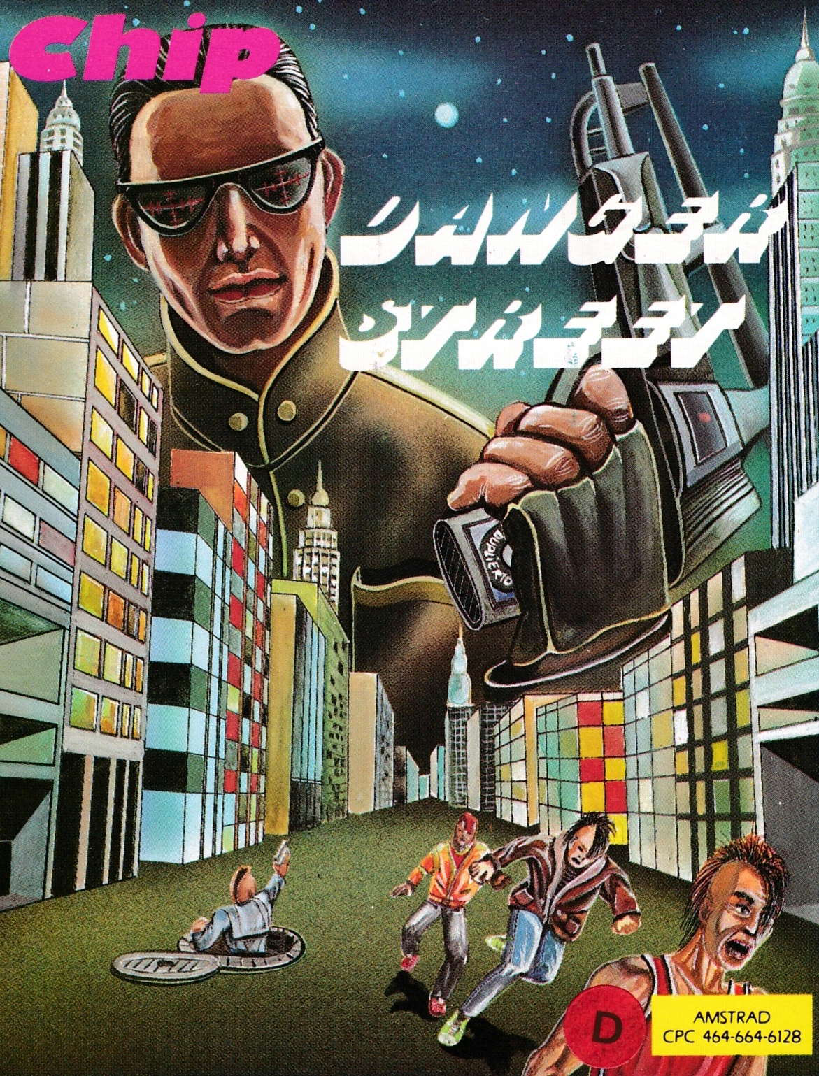 cover of the Amstrad CPC game Danger Street  by GameBase CPC
