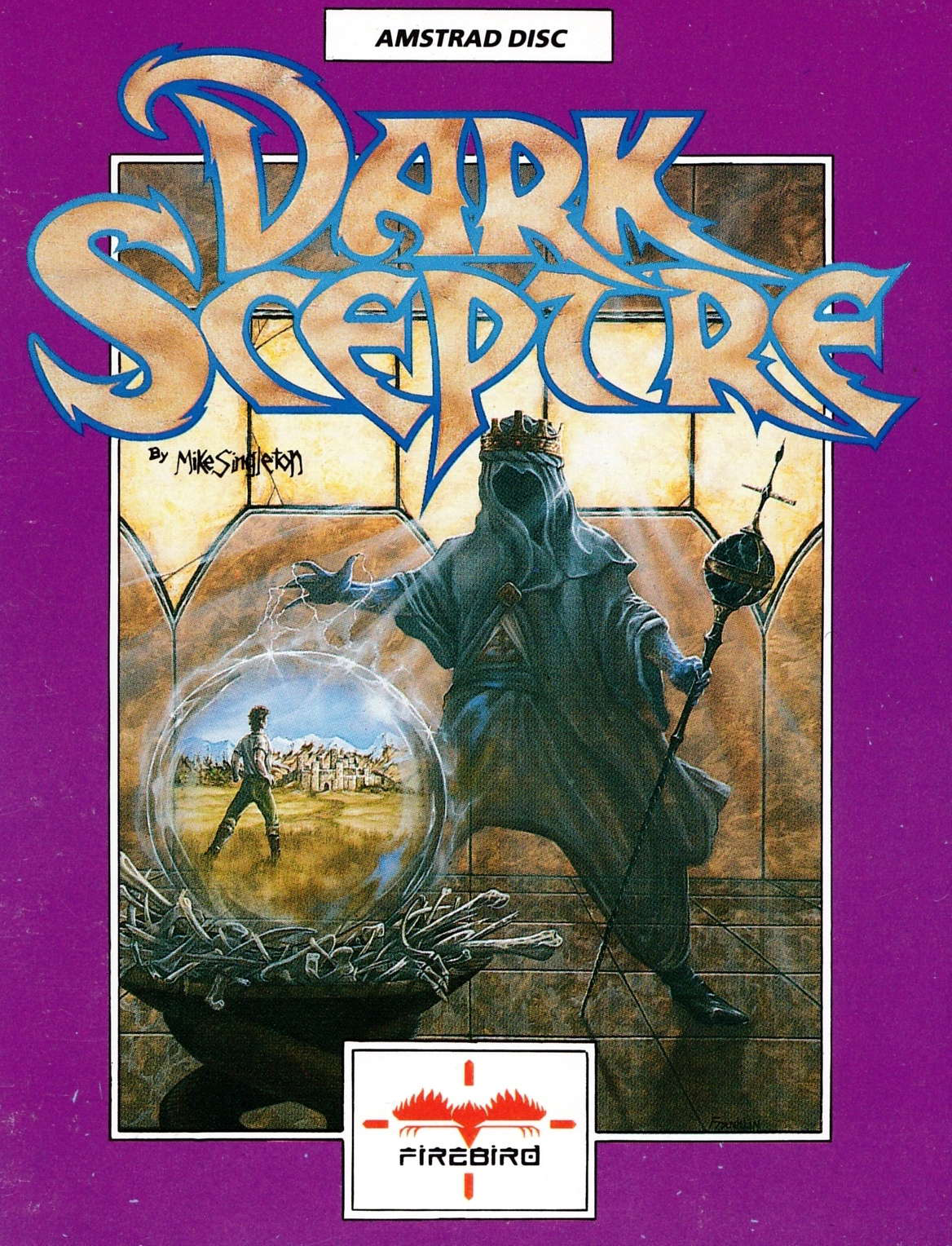 screenshot of the Amstrad CPC game Dark sceptre by GameBase CPC